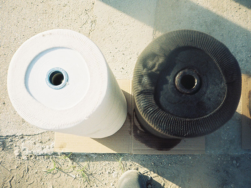 Onboard Dirty Fuel Filter
