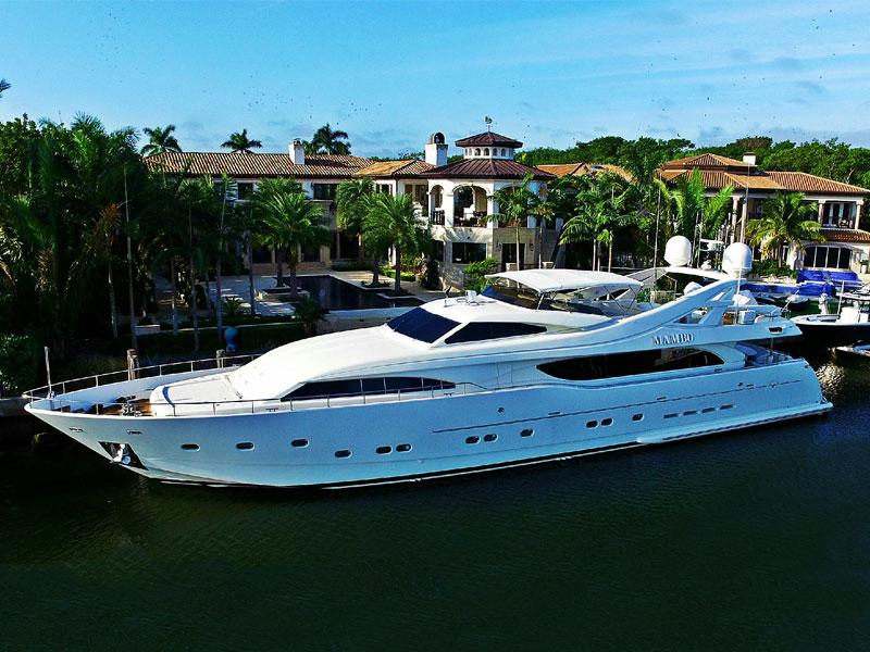 Fuel system installed in 112' Ferretti yacht