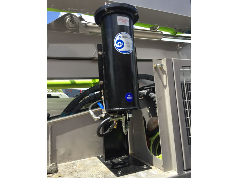 Model U1000H  - PRV with floor stand