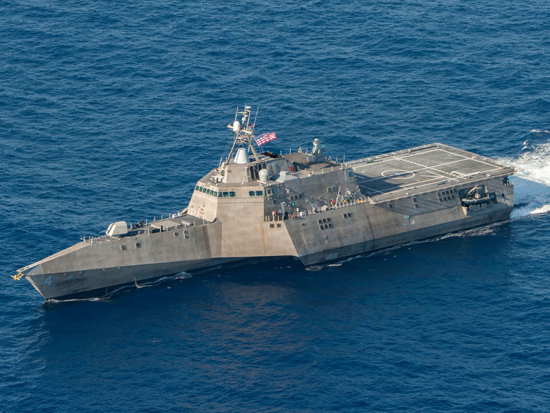 Installed on U.S Navy LCS Class vessel